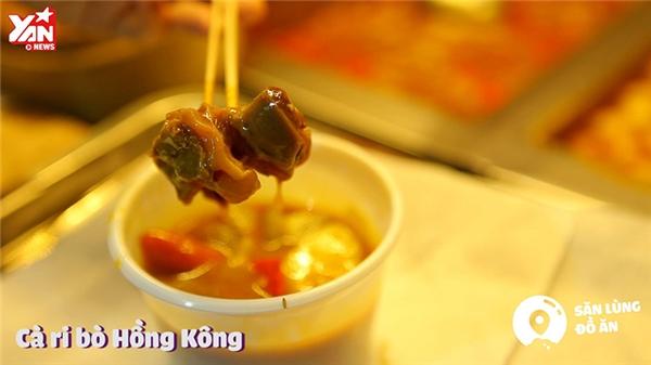 Cà ri bò Hồng Kông
