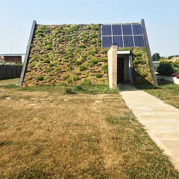 Ngôi nhà gần gũi với thiên nhiên.