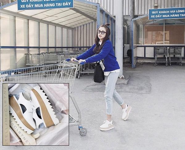Những đôi giày đang khiến hot girl Việt