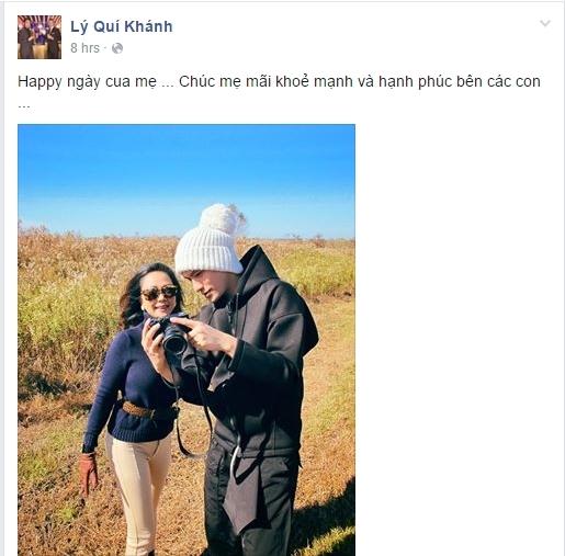 Nhà thiết kế Lý Quí Khánh đăng tải kỉ niệm khi đi du lịch cùng mẹ. Anh chúc bà mãi trẻ đẹp và hạnh phúc. - Tin sao Viet - Tin tuc sao Viet - Scandal sao Viet - Tin tuc cua Sao - Tin cua Sao