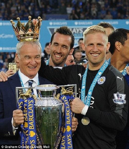 """Vị vua"" Claudio Ranieri."