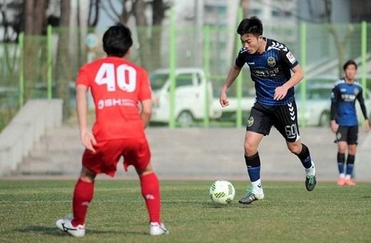Trước khi gặp chấn thương, Xuân Trường đá chính và có 2 tình huống kiến tạo trong 2 trận đấu liên tiếp tại giải dự bị R.League.
