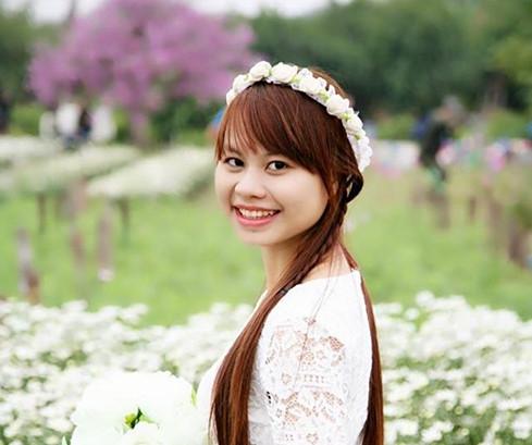 Chân dung Nguyễn Thị Lệ Thu - cô gái 22 tuổi đầy nghị lực và lạc quan.(Ảnh: NVCC)