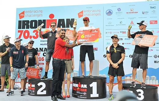 Vietjet hân hạnh đồng hành cùng cuộc thi IRONMAN 70.3