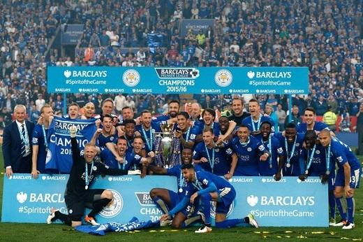 Leicester City sử dụng thuyết Moneyball để mua cầu thủ. Ảnh: Internet.