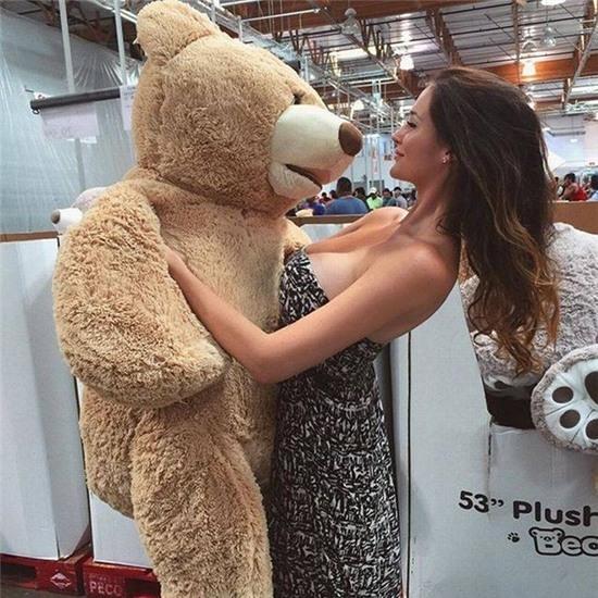 """Đừng tưởng là chị không có """"gấu"""" nhé."""