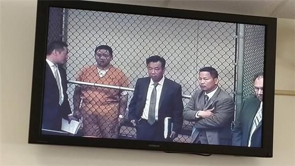 Hình ảnh Minh Béo trong phiên điều trần được diễn ra vào ngày 15/4 vừa qua. - Tin sao Viet - Tin tuc sao Viet - Scandal sao Viet - Tin tuc cua Sao - Tin cua Sao