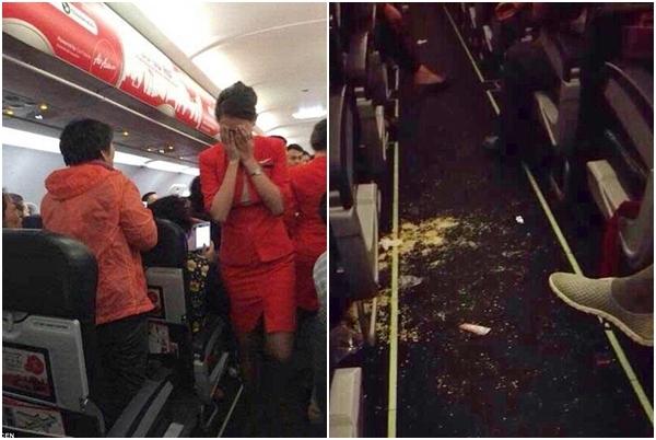 hành vi gây rối trên máy bay