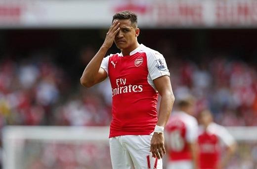 Alexis Sanchez đang không cảm thấy hạnh phúc ở Emirates