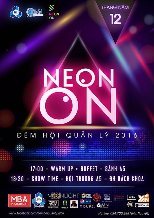 Poster chính thức của Neon On.