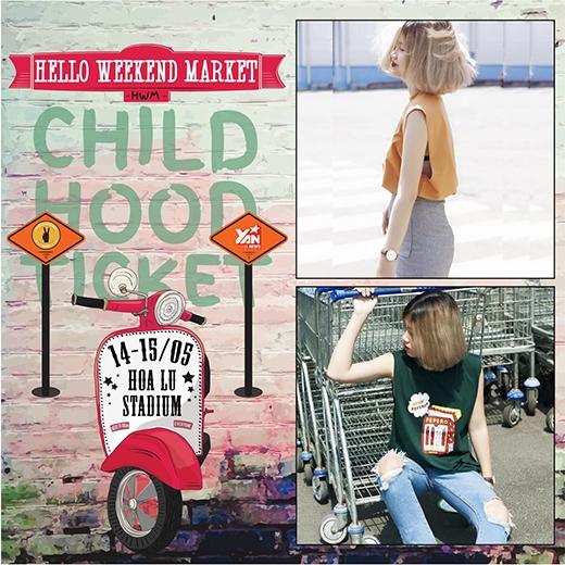 Đến Hello Weekend Market nhận vé quay về tuổi thơ