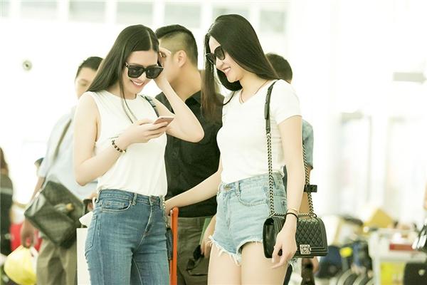 Các chân dài háo hức chờ đón những hoạt động thú vị tại Singapore.