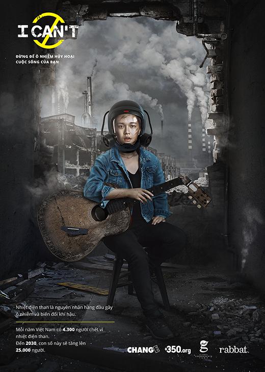 Hàng loạt nghệ sĩ Việt bày tỏ quan điểm trước vấn nạn ô nhiễm