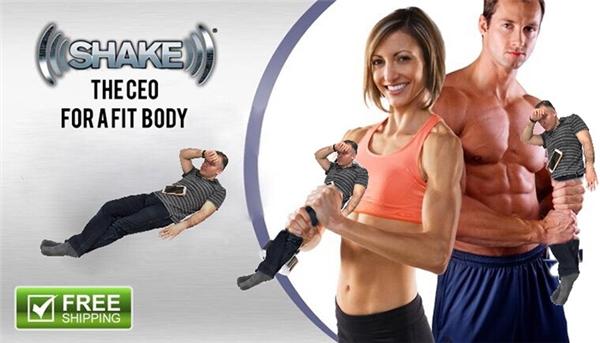 Dụng cụ tập cho cơ thể chuẩn đẹp.