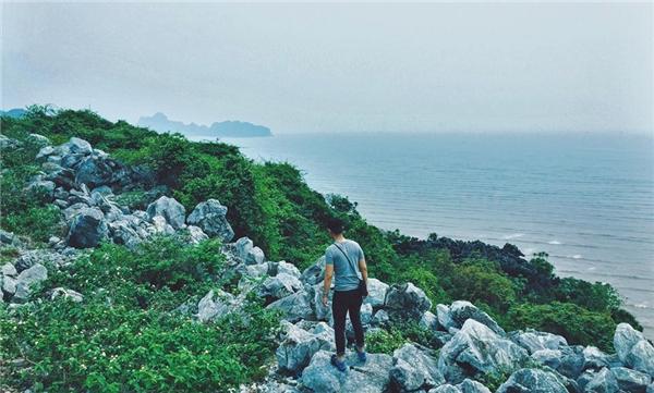 """Những cảnh đẹp như """"chốn thiên đường"""" tạiCát Bà.(Ảnh: Tuấn Anh)"""