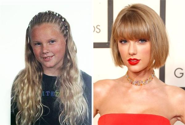 Cô nàng Taylor mũm mĩm ngày xưa giờ đây đã sở hữu thân hình cao và mảnh khảnh cùng đôi môi đầy đặn, quyến rũ. (Ảnh: Taylor Swift; Jeff Vespa)