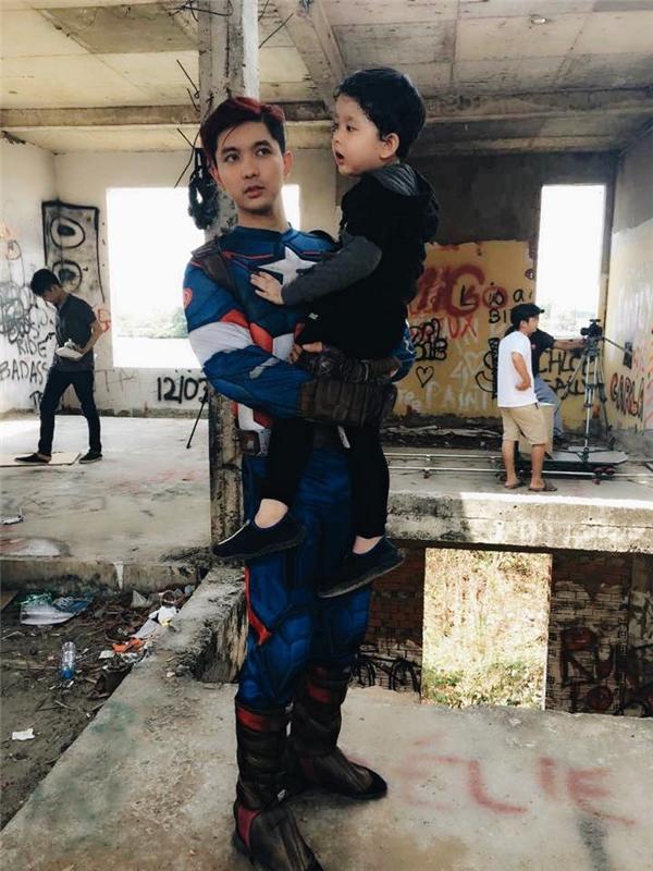 Chiều lòng Sushi, Tim hóa siêu anh hùng Captain America - Tin sao Viet - Tin tuc sao Viet - Scandal sao Viet - Tin tuc cua Sao - Tin cua Sao
