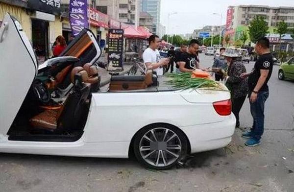 Chiếc xe chở hành của Sun(Ảnh: Internet)