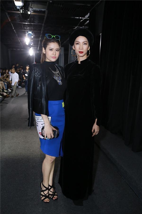 Trương Quỳnh Anh và Xuân Lan