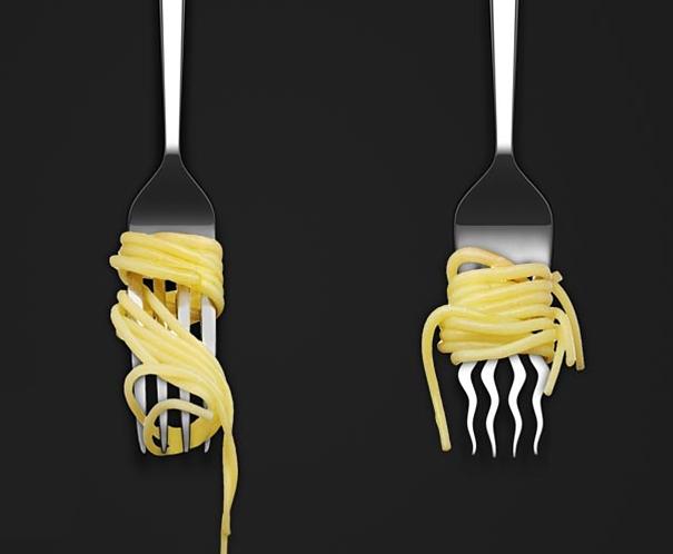 9. Việc ăn mì Ý trở nên dễ dàng hơn bao giờ hết(Ảnh: Internet)