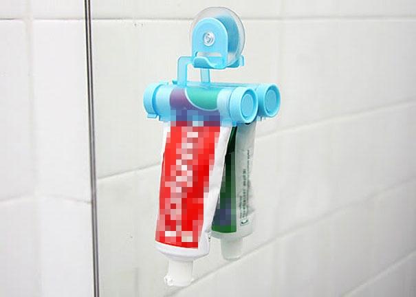17. Không còn sợ lãng phí một chút kem đánh răng nào nữa!(Ảnh: Internet)