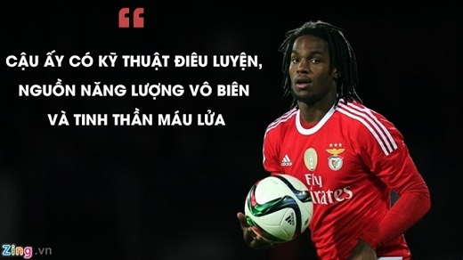 HLVVitor Paneiracủa Benfica, người trực tiếp đôn Sanches lên đội 1 nói về cậu học trò.Đồ họa: Anh Dũng.
