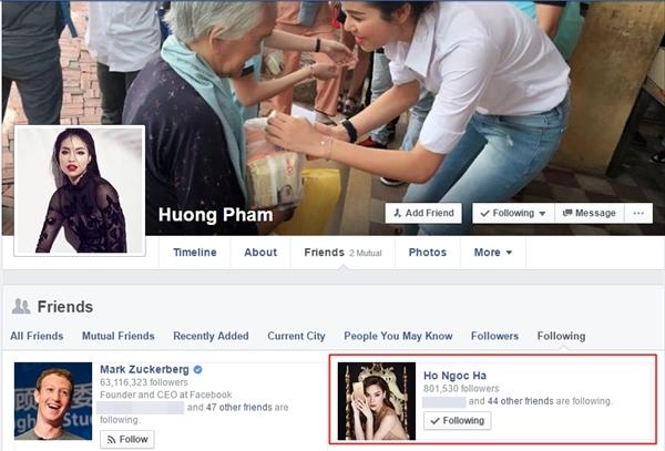 """Phạm Hương, Hà Hồ dùng chế độ """"follow"""" nhau. - Tin sao Viet - Tin tuc sao Viet - Scandal sao Viet - Tin tuc cua Sao - Tin cua Sao"""