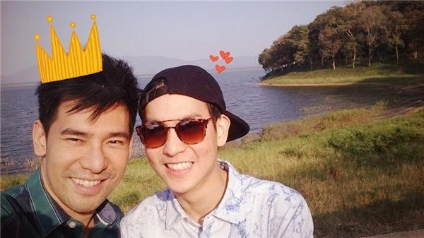 Hình ảnh luônhạnh phúc bên nhau củaThammasat và Rinpoche khiến nhiều người ngưỡng mộ.(Ảnh: Internet)