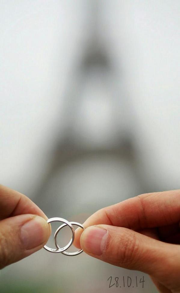 Đôi nhẫn cưới là minhchứng bền vững nhất cho tình yêu của họ. (Ảnh: Internet)