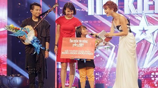 Tiết mục giành quán quân Vietnam's Got Talent khiến cả khán phòng chấn động