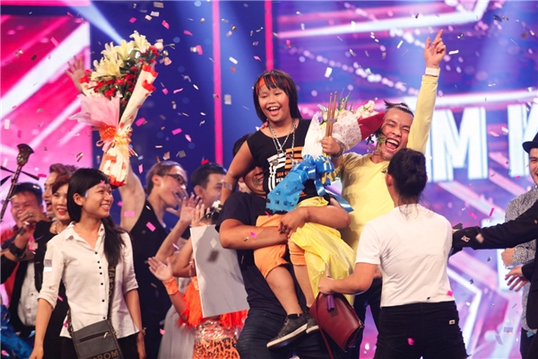 Tay trống nhí Trọng Nhân xuất sắc đăng quang Vietnam's Got Talent 2016