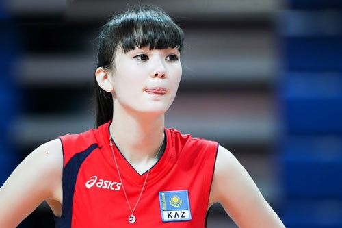 Sabina Altynbekova là ngườiKazakhstan.