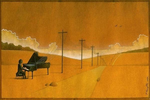 Một nghệ sĩ dương cầm cô độc