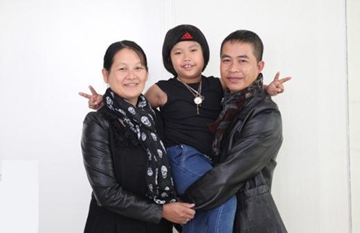 Trọng Nhân được bố mẹ tinh ý phát hiện được tài năng ngay từ khi còn rất nhỏ.(Ảnh: Internet)