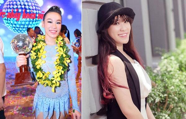 Cô bé năm nay 13 tuổi nhưng đã ra dáng thiếu nữ. Vy Khanh tiếp tục phát triển sự nghiệp khiêu vũ thể thao bên cạnh học văn hóa. - Tin sao Viet - Tin tuc sao Viet - Scandal sao Viet - Tin tuc cua Sao - Tin cua Sao