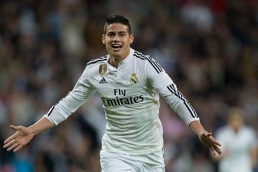 """James Rodriguez đang bị """"thất sủng"""" ở Real Madrid"""