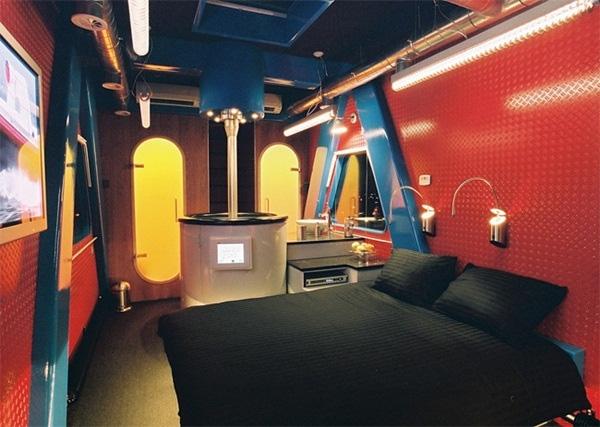 Quang cảnh bên trong của dãy phòng được xem là đắt đỏ nhất Hà Lan.
