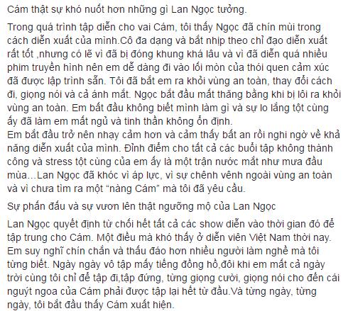 """Ngô Thanh Vân: """"Vai Cám không dành cho Lan Ngọc"""""""
