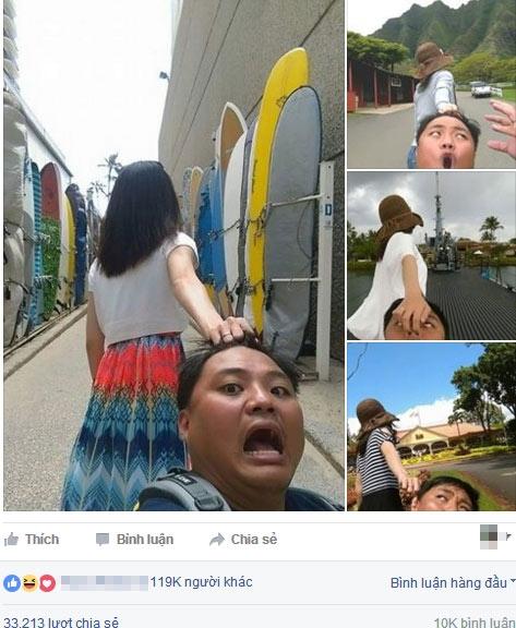 Bộ ảnh nhận được nhiều lượt yêu thích và chia sẻ trên mạng xã hội.