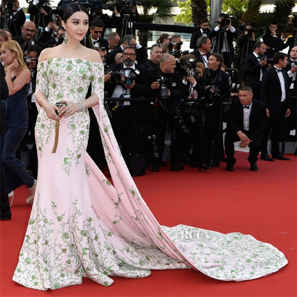 Phạm Băng Băng trên thảm đỏ Cannes 2015.