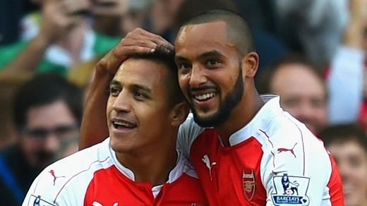 Sanchez sẽ ra đi còn Walcott tiếp tục ở lại Emirates mùa hè này?