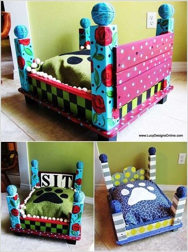 Hay những chiếc giường ngủ được chế tạo lại từ bàn cũng cực kì được ưa chuộng thời gian này. (Ảnh: Internet)