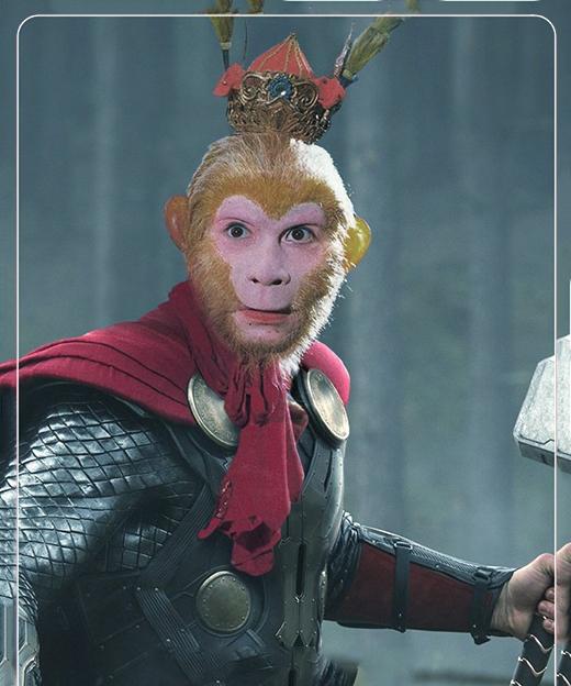 Ngược lại,Thánh Tôn bay về cai trịAsgard và gia nhập biệt đội siêu anh hùng. (Ảnh: Internet)