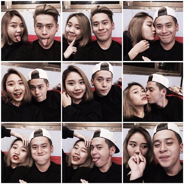 """Mỗi lần xuất hiện, Trang Thiên và D.Crown Nguyễn đều khiến nhiều người phải """"GATO"""" vì chuyện tình ngọt ngào và vô cùng đáng yêu của mình. (Ảnh: Internet)"""