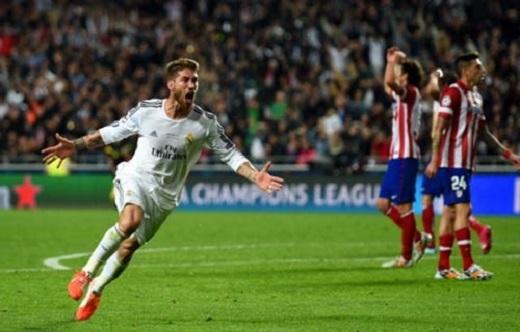 Những khoảnh khắc như của Sergio Ramos tại Lisbon năm 2014 đã giúp Real đoạt Champions League