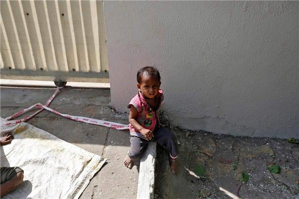 Trẻ em lang thang là chuyện thường tình ở Ấn Độ. (Ảnh: Internet)