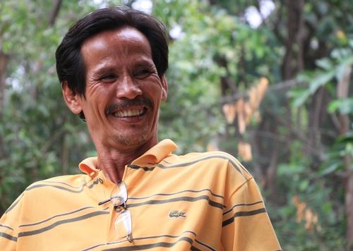 Ông Thọ năm nay đã 51 tuổi nhung vẫn quyết tâm thi ĐH. Ảnh: VNE