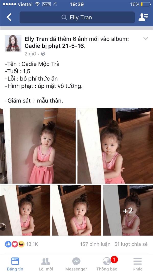 """Thậm chí, Elly Trần còn """"ưu ái"""" tạo hẳn một album mang tên Cadie bị phạt 21.05.2016. - Tin sao Viet - Tin tuc sao Viet - Scandal sao Viet - Tin tuc cua Sao - Tin cua Sao"""