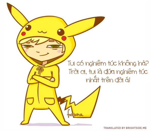 Cực kỳ nghiêm túc trong việc... thu thập và thuần hóa Pokemon.