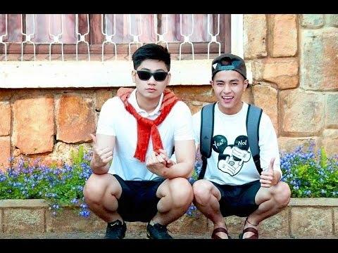 Khoảnh khắc ngọt ngào của cặp đôi đồng tính dễ thương nhất Sài thành.(Ảnh: Internet)